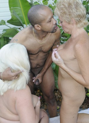 White granny sex